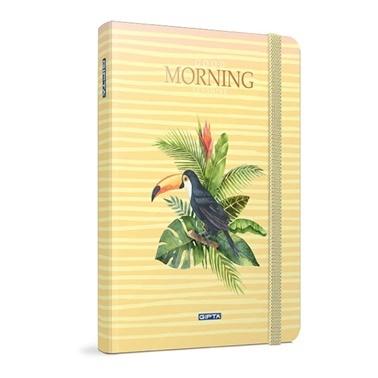 Gıpta Morning 9*14 Çizgili 120 Yaprak Renkli